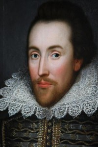 ORG XMIT: *S0426826708* LONDON - MARCH 09: A painting of William Shakespeare which is believed to be the only authentic image of Shakespeare made during his life is unveiled by The Shakespeare Birthplace Trust on March 9, 2009 in London, England. The recently discovered painting, which is believed to date from around 1610, depicts Shakespeare in his mid-forties. The portrait is due to go on display at The Shakespeare Birthplace Trust in Stratford-upon-Avon on April 23, 2009. (Photo by Oli Scarff/Getty Images) 03212010xGUIDESUNDAY